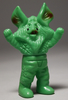 Bullmark [ brown Alien Icarus Minisofubi / yellow-green cast ]