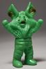 Bullmark [ brown Alien Icarus Minisofubi / yellow-green cast ]
