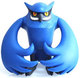 Talons Owl - Blue