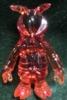 Secret base resin SKULLBEE red molded