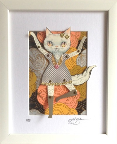 Pretty_kitty-mab_graves-gouache_acrylic_colored_pencil_and_gold_leaf-trampt-211760m