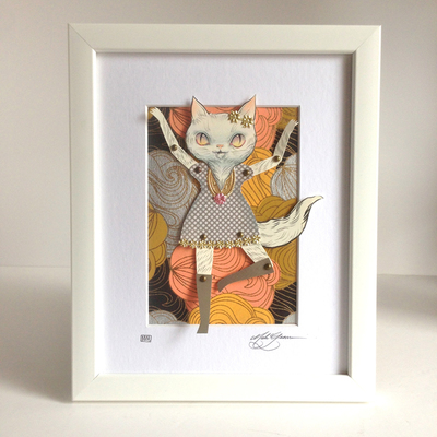 Pretty_kitty-mab_graves-gouache_acrylic_colored_pencil_and_gold_leaf-trampt-211761m