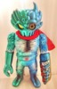 FAYE OTTOMAN CHAOS BLADE ( Green/Blue MOLDING )