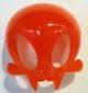 Tangerine Vamp Skelve Mask