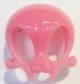 Pink Bubblegum Vamp Skelve Mask