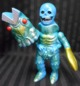 ZOLLMEN Medicom Toy [ Skeleton Vartan ( Garutan ) / (TCJ2 venue Limited Edition / blue molded ) ]