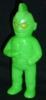 Gagameru Slash Man [ mini Size / fluorescent green molding ]