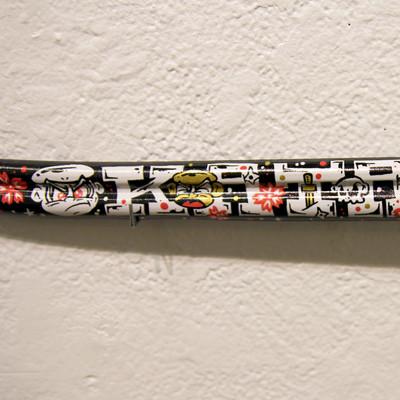 Ninja_monkey_katana-jerome_lu-acrylic_spray_paint_epoxy_clay_found_objects_and_gold_leaf-trampt-214380m
