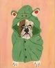 Bulldog in Costume