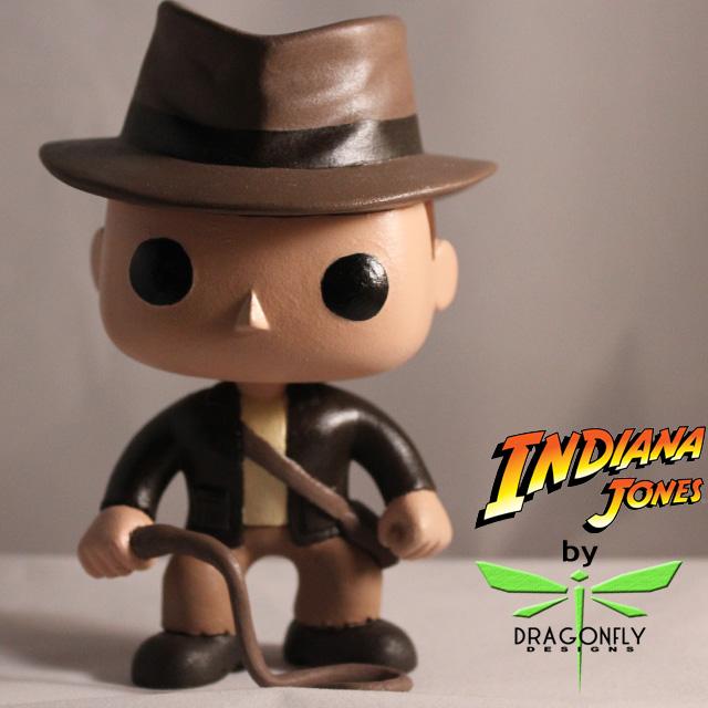 Indiana Jones Pop Vinyl By Dragonfly Designs Da