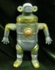Tsuburaya Communications Soft Vinyl Monster Township series Sebunga gray molded gold spray