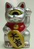 Fortune Cat Baby silver Daikichi
