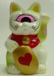 Fortune_cat_baby_white__yellow-green_heart-mori_katsura-fortune_cat-realxhead-trampt-215427m