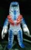 Yamanaya Tsuburaya Communications Monster Township series Alien Godola gray molded blue and red