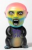 PUNK DRUNKERS X RAMPAGE TOYS GUY RAT (Black MOLDING)