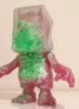 SKULL BBB - Happy Evil Year Twenty-Fifteen ( pink lame ) (Green Splatter - Secret)