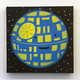 Happy Death Star (Blue/Yellow)
