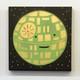 Happy Death Star (Green/Gold)