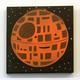 Happy Death Star (Orange/Brown)