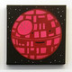 Happy Death Star (Red/Pink)