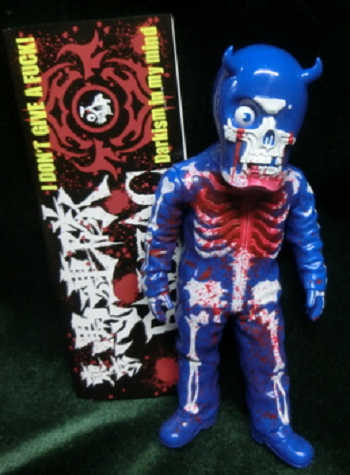 Tokyo_gurentai_skull_man_kai_ju_blue__blue_molding__blood_splash-balzac-skullman-secret_base-trampt-220912m