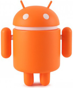 Orange-google-android-dyzplastic-trampt-221297m
