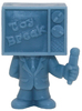 Toy Break Mascot - Light Blue