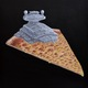 Super Cheesy Star Destroyer Cheese Pizza