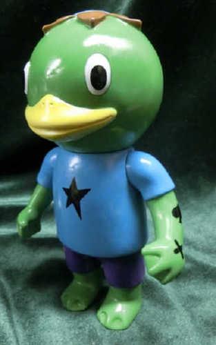 Kappa_boy_green_molding__light_blue__purple__oneoff-cometdebris_koji_harmon-kappa_shonen-cometdebris-trampt-222733m