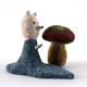 Bear and Mushroom