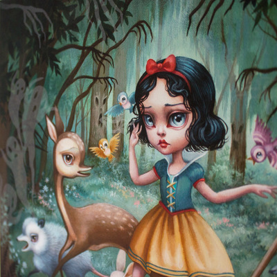 Snow_white_in_the_black_forest-mab_graves-gicle_digital_print-trampt-228556m