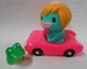Sangattsu Honpo [ SUIKO Suico competition car / ( blue green × pink molding / Hair : With yellow / black eye / frog ) ]