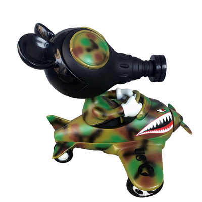 Mousemask_murpy_in_airplane_-_camo_edition-ron_english-mousemask_murphy_in_airplane-blackbook_toy-trampt-230044m