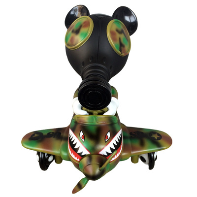 Mousemask_murpy_in_airplane_-_camo_edition-ron_english-mousemask_murphy_in_airplane-blackbook_toy-trampt-230045m
