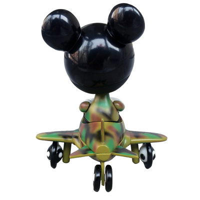 Mousemask_murpy_in_airplane_-_camo_edition-ron_english-mousemask_murphy_in_airplane-blackbook_toy-trampt-230046m
