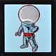 Spaceman:Blue