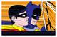In the Batmobile