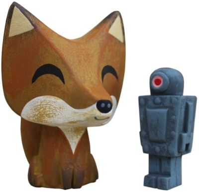 Fox_and_robot_resin_set-amanda_visell-fox_and_robot-switcheroo-trampt-235995m