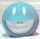 Smiley Grin Piggy Bank - Gentle Blue