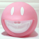 Smiley Grin Piggy Bank - Lady Pink