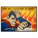 Sad Superman (Super Saver 2) - Hand Painted Multiple