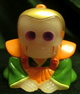 REALHEAD skeleton company ( rear white molding / orange/green )