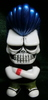 SKULLTOYS! Skull Johnny (rear Lumpur head life limitation / white molding / blue hair )