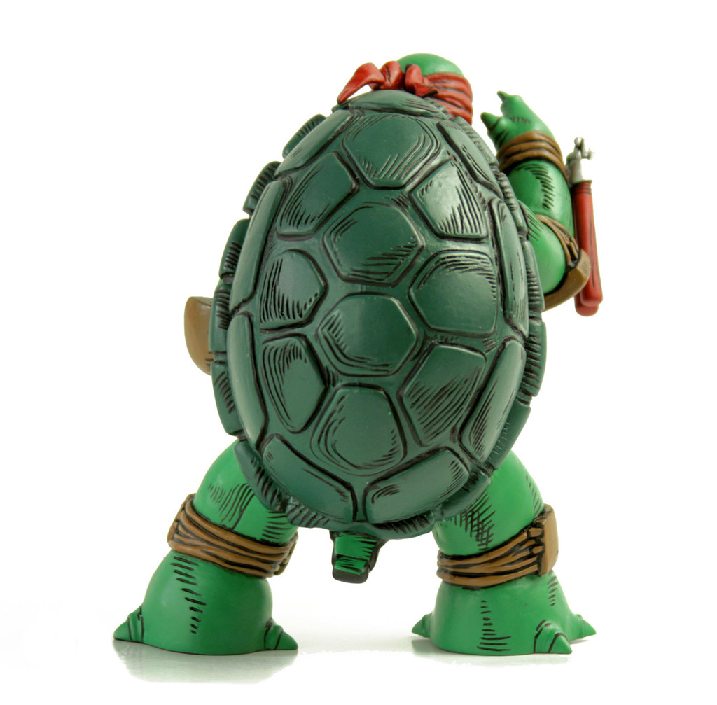 the first turtle figure color version with red ma trampt library