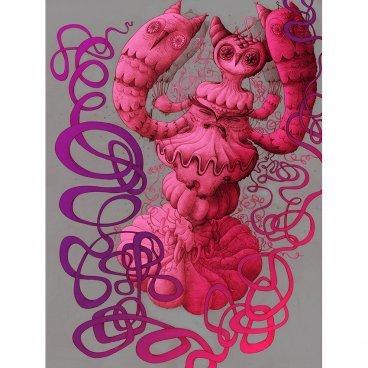 False_idol_-_owl_clam_print-nathan_jurevicius-risograph-trampt-241278m