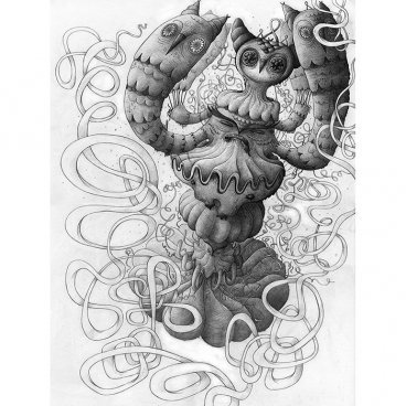 Owlclam_sketch-nathan_jurevicius-ink-trampt-241279m