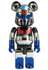 BE@RBRICK 200% superalloy Mazinger Z  (plated version)