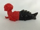 Fiji Mermaid (Red/Black)