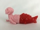 Fiji Mermaid (Light Pink/Red)