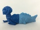 Fiji Mermaid (Blue/Light Blue)